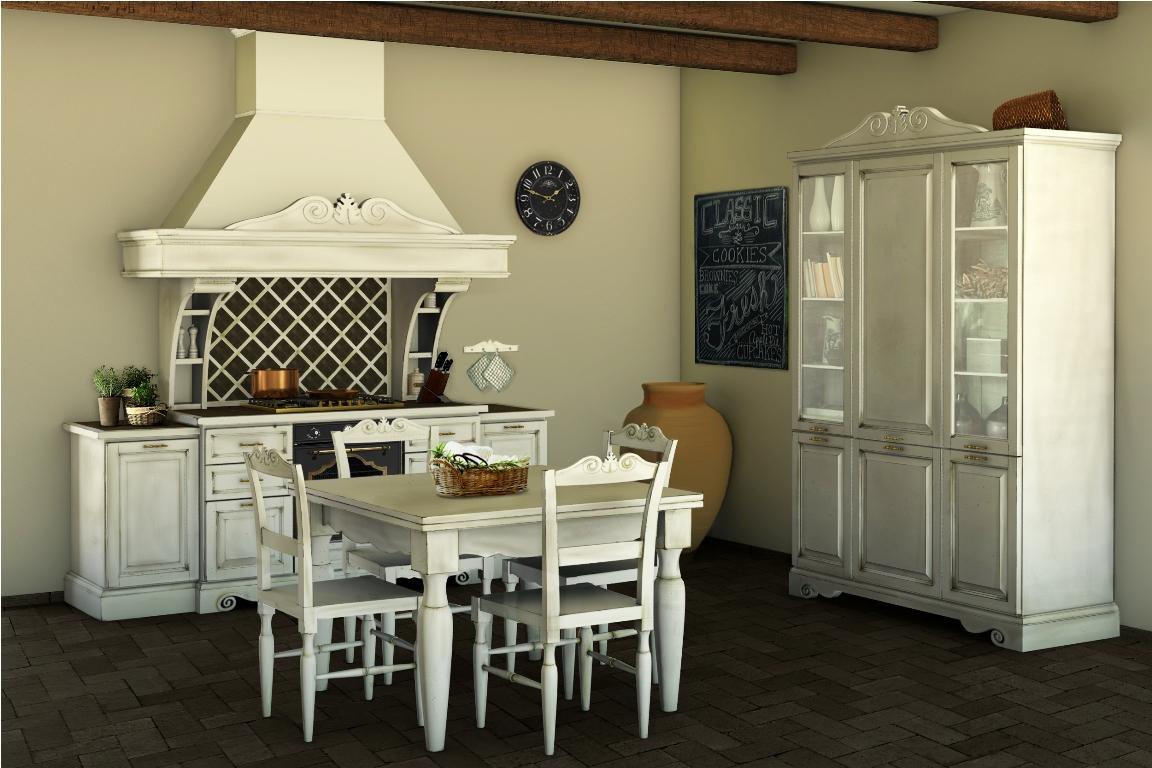 Cucine della nonna consigli all 39 arredo della casa - Mobili in stile shabby chic ...