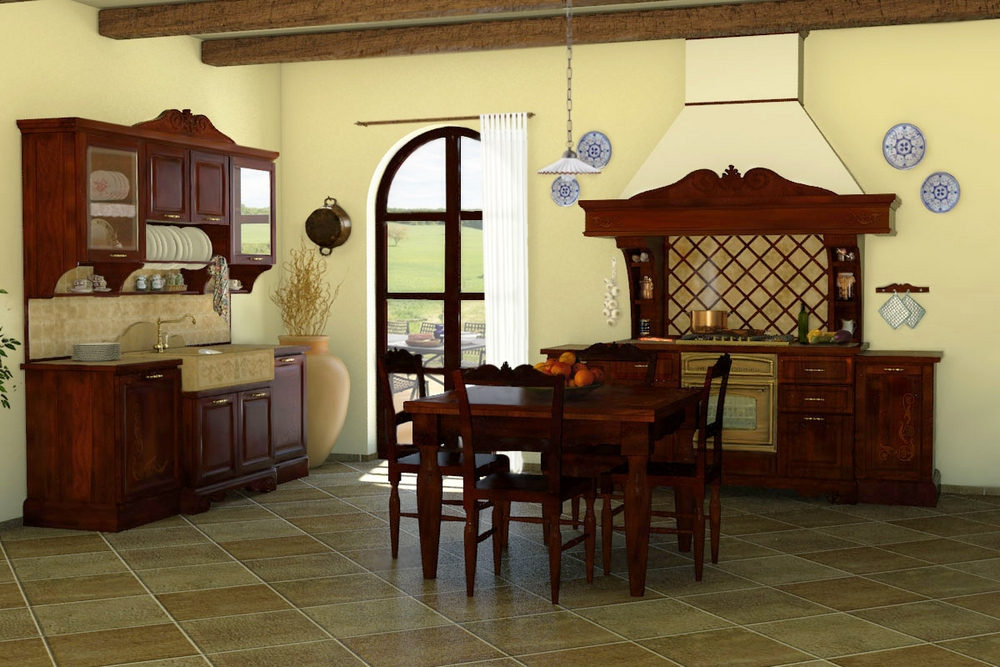 Affordable case arredate in stile country arredamento casa for Country style arredamento