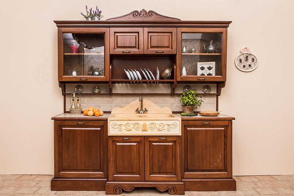 La Credenza Della Nonna : Cucine della nonna classiche in legno massello